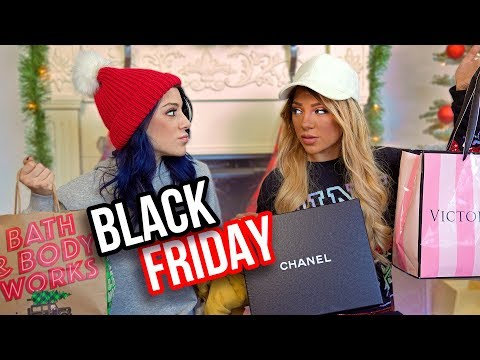 Black Friday Haul 2017!!! Niki and Gabi ❄️