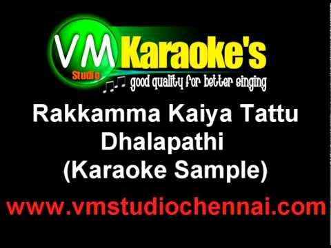Thalapathi - Rakkamma Kaiya (Karaoke)
