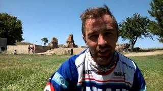 Transanatolia 2015: second place of overall, Helder Rodrigues - Yamaha