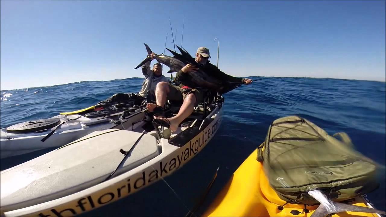 Dads First day of Kayak Fishing