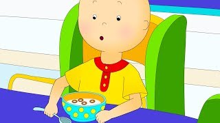 Caillou 's Breakfast   Funny Animated cartoons Kids   WATCH ONLINE   Cartoon for Children