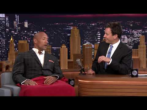 Jimmy Fallon & Dwayne Johnson's Workout Videos -- Part 1