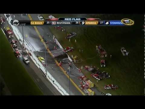 Nascar Crashes 2012 Nascar 2012 Daytona Montoya