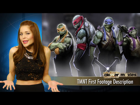 Teenage Mutant Ninja Turtles First Footage Description