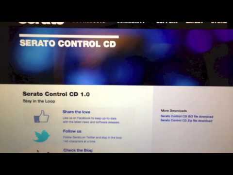 HOW TO MAKE CONTROL CDS FOR SERATO