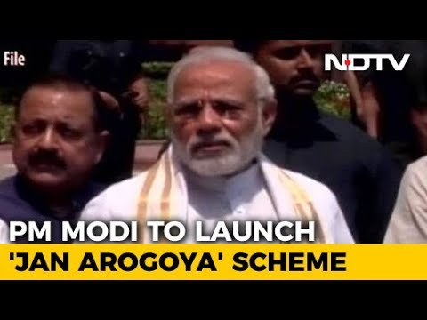 PM Modi To Launch World's Biggest State-Run Health Plan Today