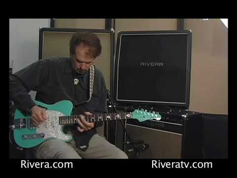 Rivera Will Ray plays through Venus 6 and give amp advice