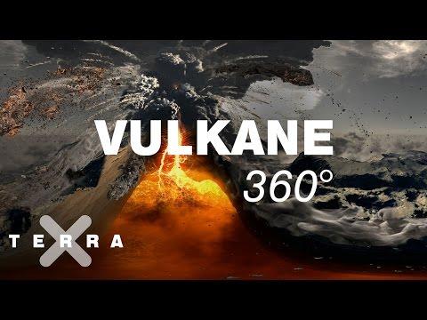 Vulkane in 3D und 360 Grad - Terra X ZDF