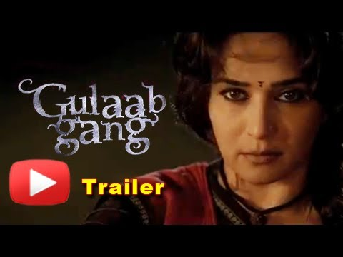 Gulaab Gang Official Trailer Out - Madhuri Dixit, Juhi Chawla