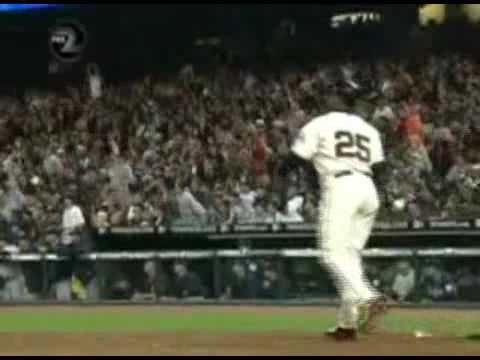 Thank you Barry!! (A Barry Bonds Tribute) Video