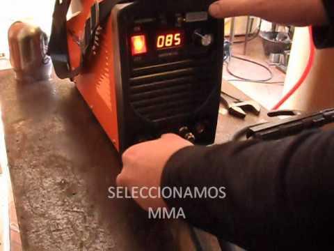TIG INVERTER GLADIATOR TEST DE SOLDADURAS