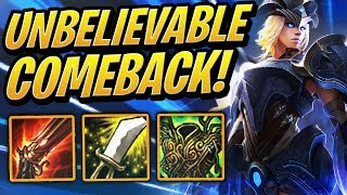 UNBELIEVABLE COMEBACK! | Teamfight Tactics | TFT | League of Legends Auto Chess