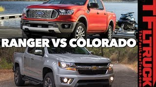 2019 Ford Ranger vs Chevy Colorado | What Car or Truck Should I Buy Ep. 16