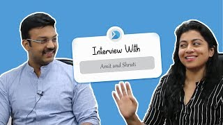 Amit and Shruti Ramachandran Interview | Doll House Diaries | DGZ Media