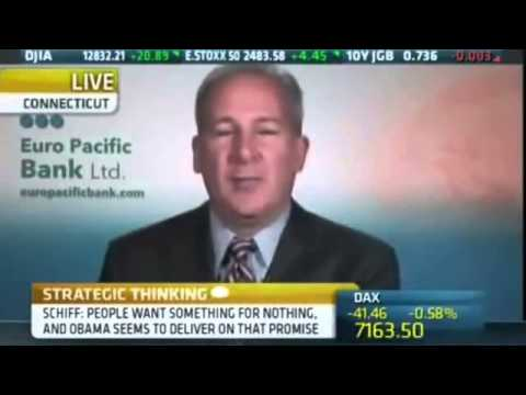 Peter Schiff 2012 - Buy Gold! Buy Silver! Own real things!!!