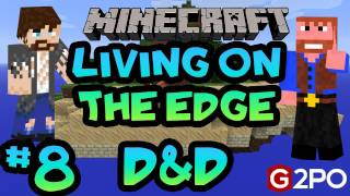 Living on the Edge: Part 8, Sky Island | Dumb and Dumber Minecraft