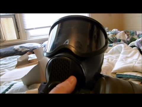 Belgian B.e.m 4gp Riot Gas Mask video
