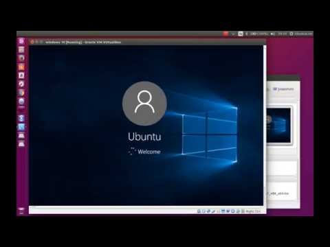 Install Windows 10 inside Ubuntu - VirtualBox