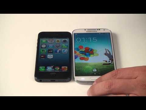 Samsung Galaxy S4 vs. Apple iPhone5 (www.buhnici.ro)