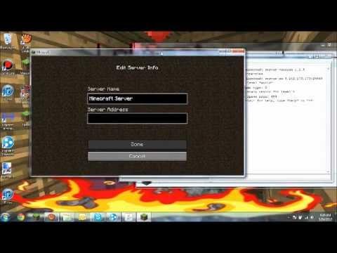 how to create minecraft server hamachi