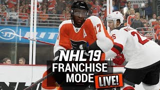 🔴 NHL 19 Franchise Mode LIVE | Philadelphia Flyers | MORE PLAYOFF ACTION