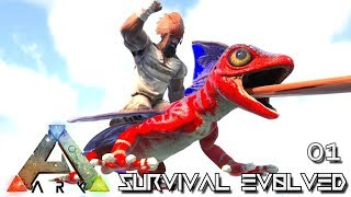 ARK: SURVIVAL EVOLVED - NEW EPIC START JOURNEY BEGINS E01 !!! ( PUGNACIA PARADOS )