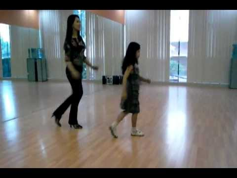 Line Dance - Lollipop (sept 2012) Danced By Rosie Amelia & Anna Bax video