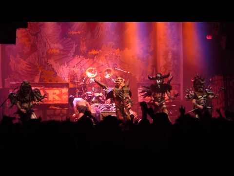 gwar - carry on wayward son / sick of you *finale to set* (december 21, 2012 @ the norva)