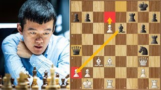 Perfect Attacking Game? | Ding vs Mamedyarov || Norway Chess (2019)