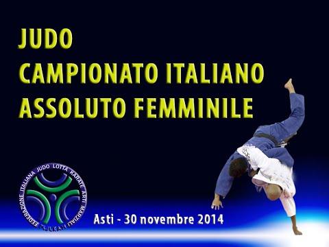 JUDO - CAMPIONATO ITALIANO ASSOLUTO FEMMINILE 2014