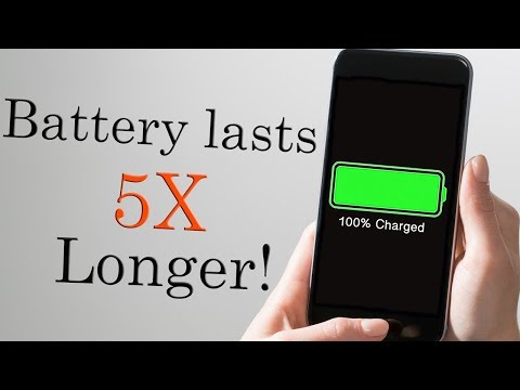 How To Make Your iPhone Battery Last Longer