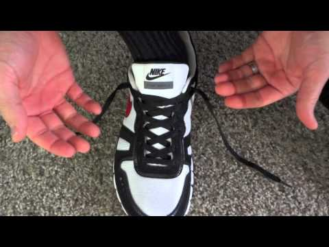 lacing a boot to prevent heel slippage