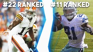 RANKING EVERY NFL TEAM FROM WORST MADDEN 19 TEAM TO BEST MADDEN 19 TEAM