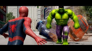 HULK VS SPIDERMAN (2002) Animated Short | Marvel Fight