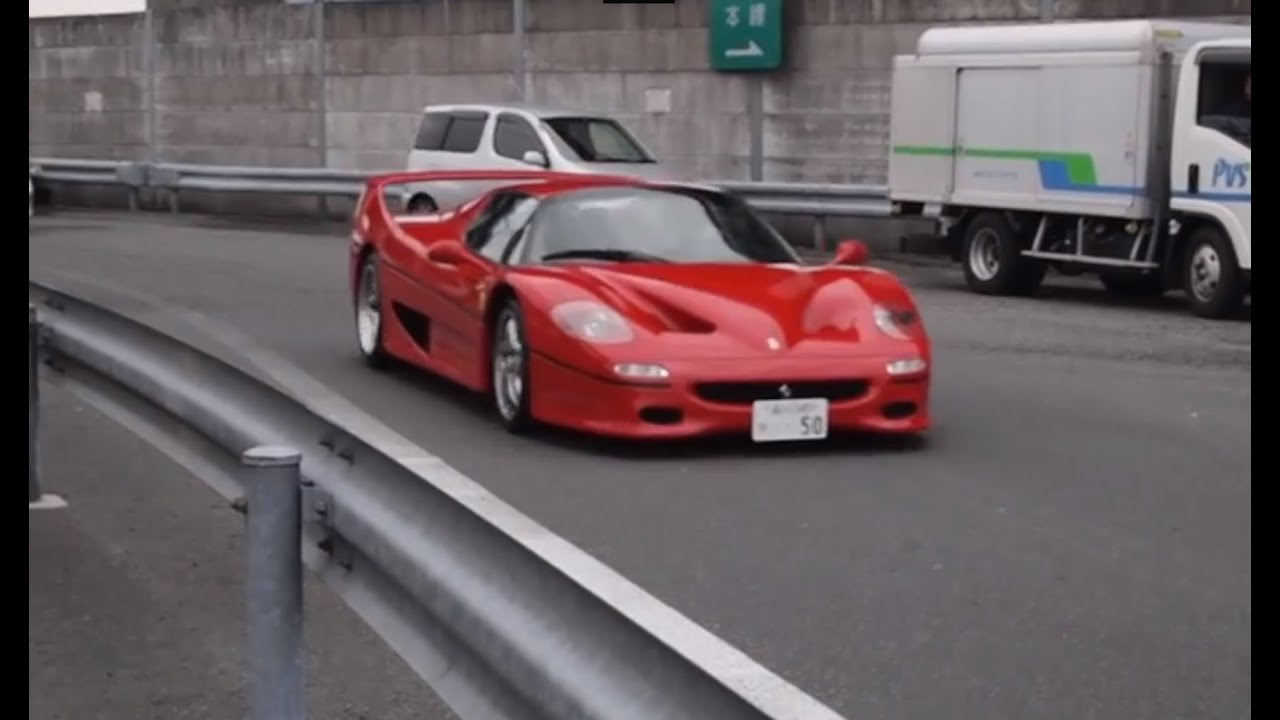 Ferrari Drift And Crash