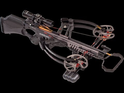 Barnett Vengeance Crossbow Assembly and review