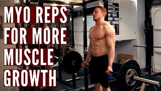 WHY I DO MYO-REPS ON MY BODYBUILDING DAYS FOR MUSCLE GROWTH