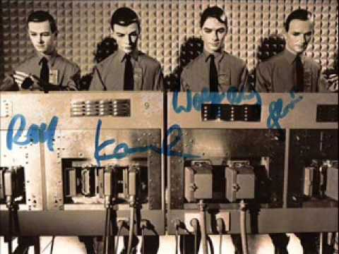 kraftwerk Rarities Les Mannequins (original version French)