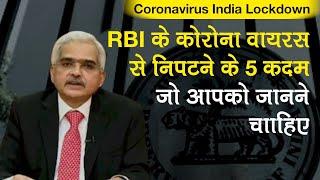 Coronavirus Lockdown:RBI Governor का ऐतिहासिक कदम, Home Loan, Car Loan, EMI पर दी छूट,Repo Rate घटाई