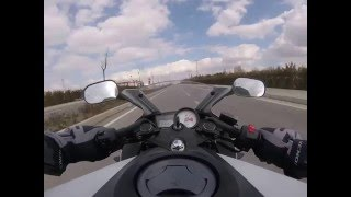 Yamaha Yzf r125 tomarza gopro hero4 session