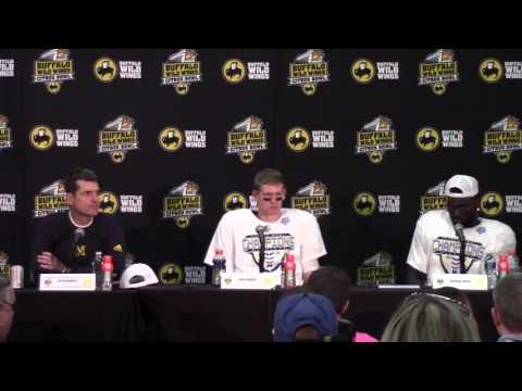 2016 Buffalo Wild Wings Citrus Bowl: Michigan Postgame Press Conference