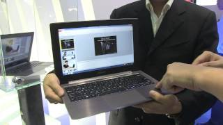 Asus TAICHI Dual Display Ultrabook Hands On - Computex 2012