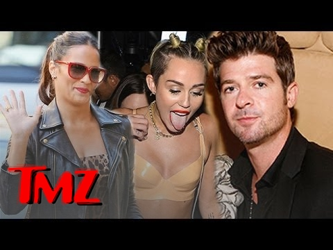 Robin Thicke, Paula Patton Split -- Triggered By Antics with Miley