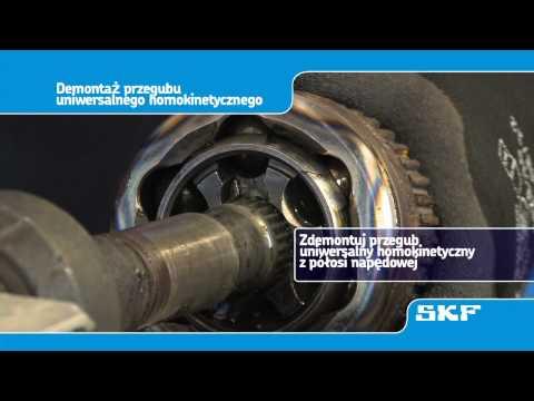 SKF - Montaz nowego przegubu uniwersalnego homokinetycznego (VKJA 5342) Renault Laguna