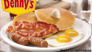 How to get $100 to Spend at Denny's or IHOP with denny's,top 10 untold truths of denny's in 2019!