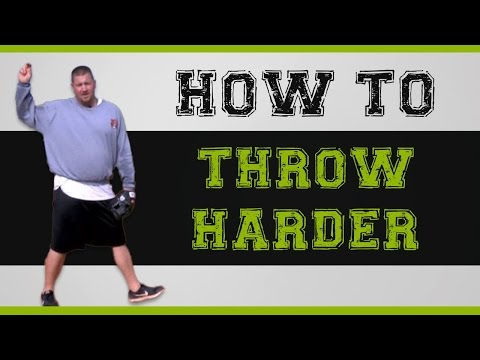 How to throw HARDER in baseball with 2 of the BEST exercises!