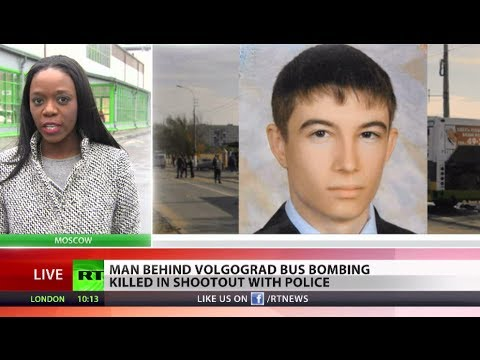 Man behind Volgograd bus bombing killed in shootout with police