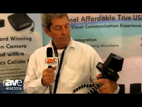ISE 2016: VDO360 Highlights EZVDO Beacon Camera with Plantronics Calisto