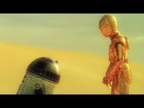 Star Wars:  Just The Two Of Us  C3P0 & R2D2 Music Video