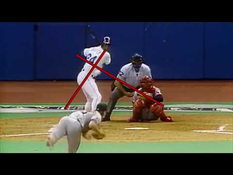 Ken Griffey Jr Mechanics - Spine Angle